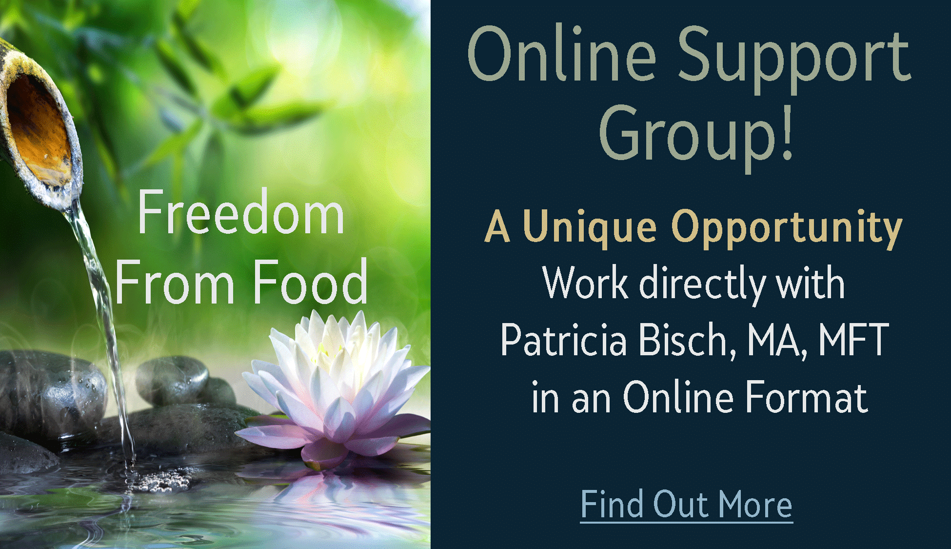 Online Support Group Announcement